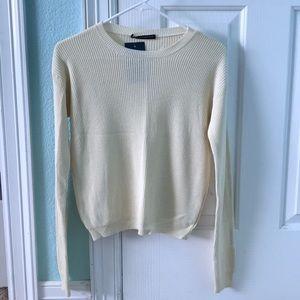 Light Yellow Brandy Melville Sweater